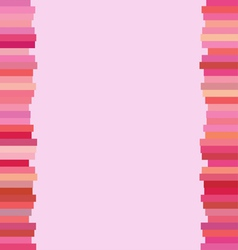 The Modern Horizontal of Pink Lines Background vector image