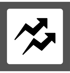 Trends icon vector image