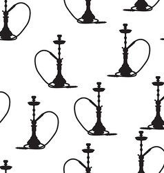 Hookah seamless pattern vector image