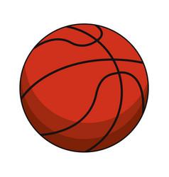 basketball ball sport image vector image