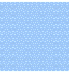 Blue wave pattern - seamless vector image