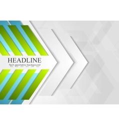 Bright geometric corporate background vector image