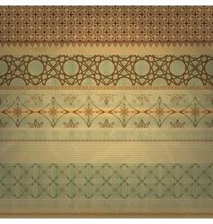 scrap template vintage vector image vector image