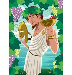 Dionysus vector image vector image