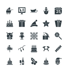 Christmas Cool Icons 4 vector