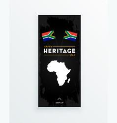 happy heritage day - 24 september - social media vector image