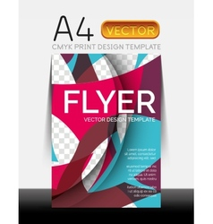 Modern Flyer Design vector