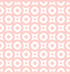 seamless pattern in light pink and white colors vector image