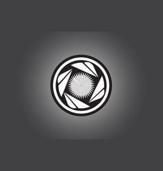 turbine logo design vector image