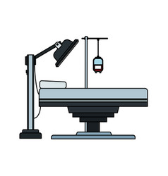 gurney or hospital bed icon image vector image