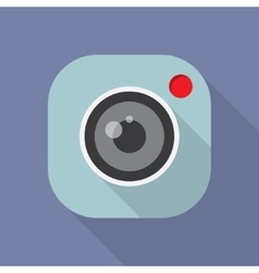 camera application icon vector image vector image