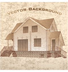 Grunge Architectural Background vector image vector image