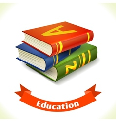 Education icon textbook vector