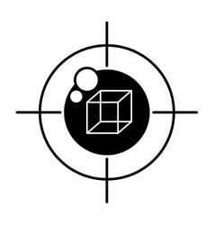 vr eye tracking innovation technologies outline vector image