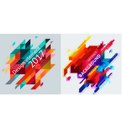 abstract backgrounds minimalist design creative vector image