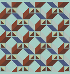 Architectonic pattern vector