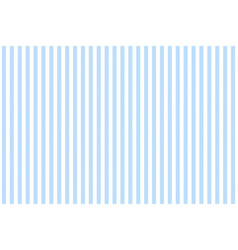 Blue white striped fabric texture seamless pattern vector