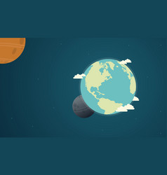 collection earth day with world vector image
