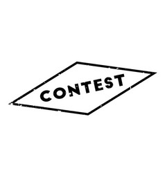 Contest rubber stamp vector