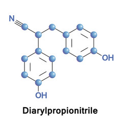 Diarylpropionitrile selective agonist of erbeta vector