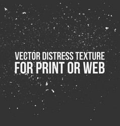 distress texture for print or web vector image