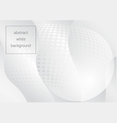 Light white gray abstract background vector
