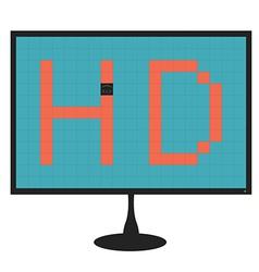 Monitor dead pixel vector