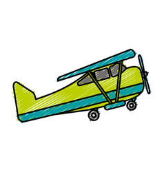 Plane icon image vector