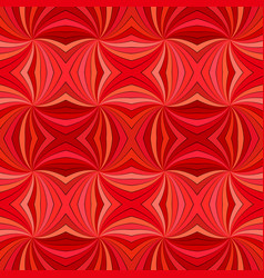 red seamless abstract hypnotic swirl stripe vector image