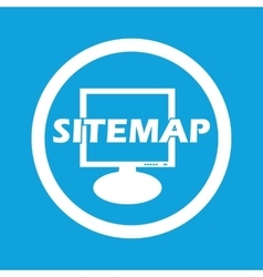 Sitemap sign icon vector