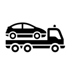 Transport on the road vector