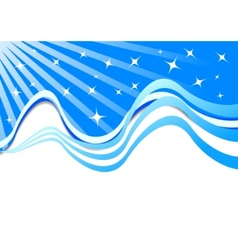 beautiful background with stars vector image vector image