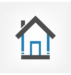 Homes background vector image vector image
