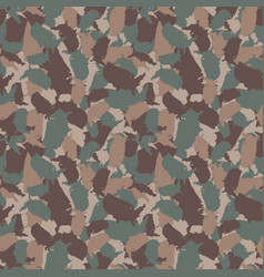 original usa shape camo seamless pattern colorful vector image vector image