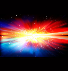 Abstract background with stars and supernova vector