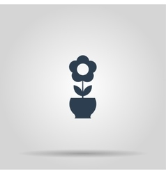 Flower Icon concept for vector image vector image