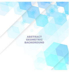 blue geometric backgroundabstract background vector image
