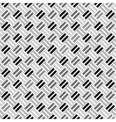 Design seamless monochrome pointed pattern vector image