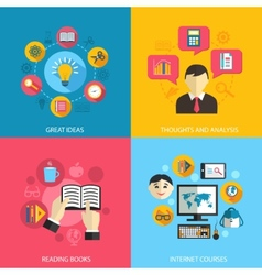 Education learning concept vector