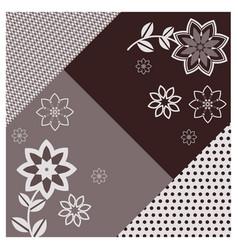 Geometric scarf background vector