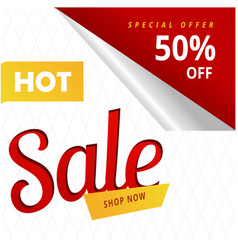 Hot sale shop now special offer 50 off ima vector