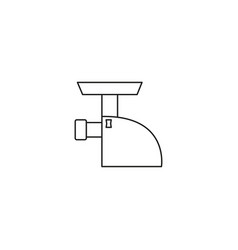 meat grinder line icon vector image