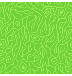 Seamless pattern with neurons vector