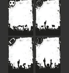 Sport Backgrounds vector image