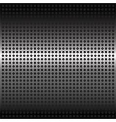 steel mesh background vector image vector image