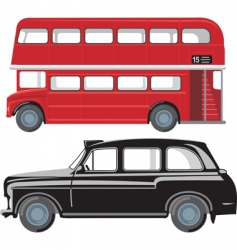 London public transport vector image vector image