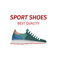 sport shoes quality sneakers logo icon isolated vector image vector image