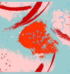 Abstract paint backdrop stain handmade vector