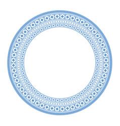 asian mandala frame vector image