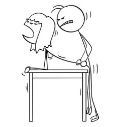 Cartoon kama sutra sex pose sexual position vector